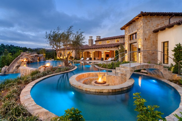 16 Stunning Mediterranean Swimming Pool Designs To Beautify Your Yard