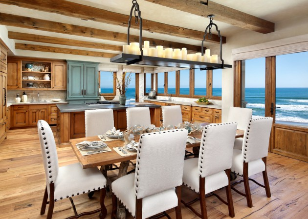 22 unbelievable coastal dining room designs to brighten up for Coastal dining room ideas