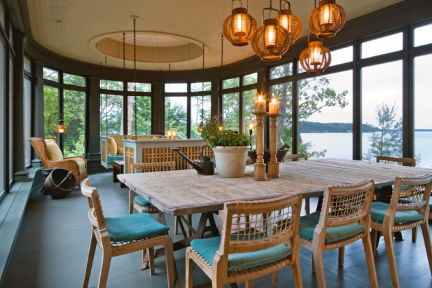 22 unbelievable coastal dining room designs to brighten up for Asian cuisine ocean view nj