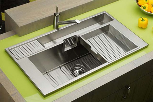 Kitchen Sink Ideas Prepossessing Unusual But Cool Kitchen Sink Design Ideas 2017