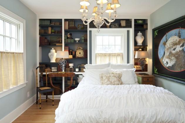 17 Creative Built-In Bookcase Design Ideas