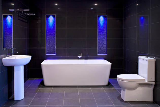 16 Functional Ideas For LED Lighting In The Bathroom