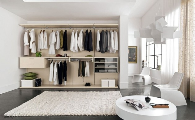 Open Closet Ideas Bedroom Diy