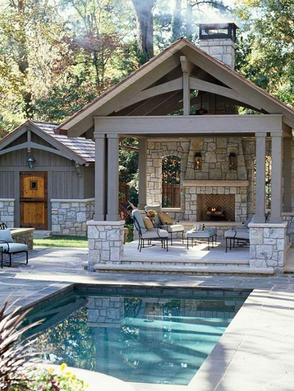 21 beautiful small swimming pool designs for big pleasure for Small backyard swimming pool designs