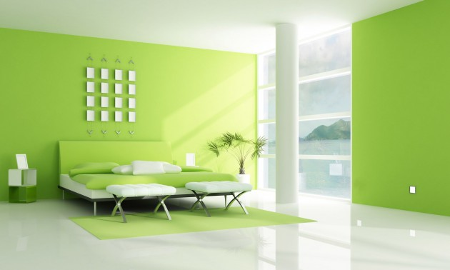 Green In Your Interior  16 Fascinating Design Ideas
