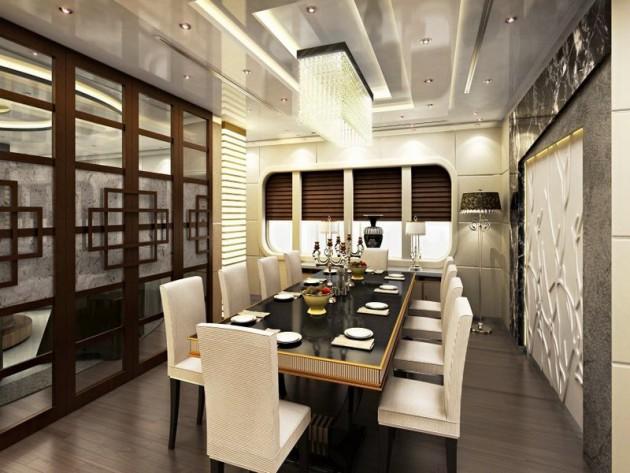 18 Marvelous Contemporary Dining Room Design Ideas