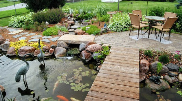 Attracitve Fish Pond In Your Backyard- 23 Impressive Ideas