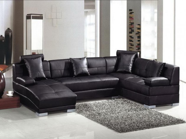 40 Stunning Small Living Room Design Ideas To Inspire You: 15 Classy Leather Sofa Set Designs