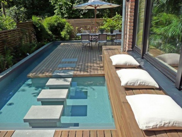 21 Beautiful Small Swimming Pool Designs For Pleasure In Your Backyard
