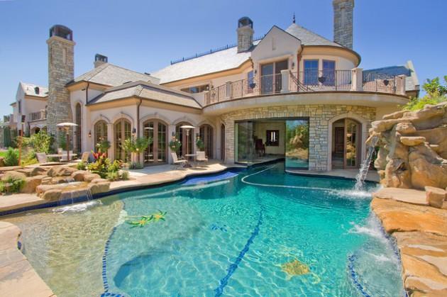 16 Stunning Mediterranean Swimming Pool Designs To Beautify Your Yard