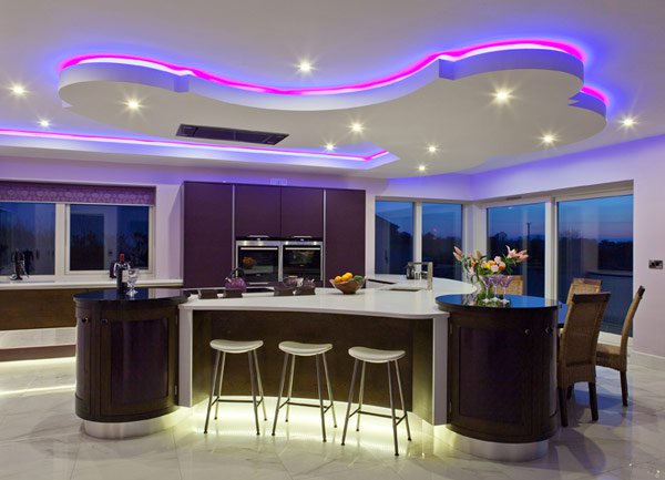 15 Attractive LED Lighting Ideas For Contemporary Homes