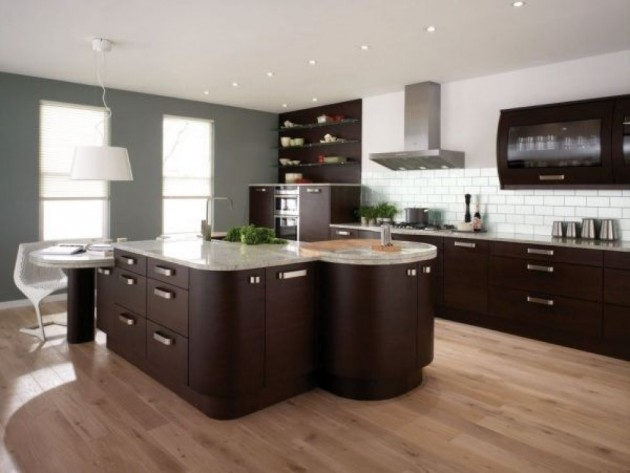 14 Classy Rounded Kitchen Designs For Stylish Home