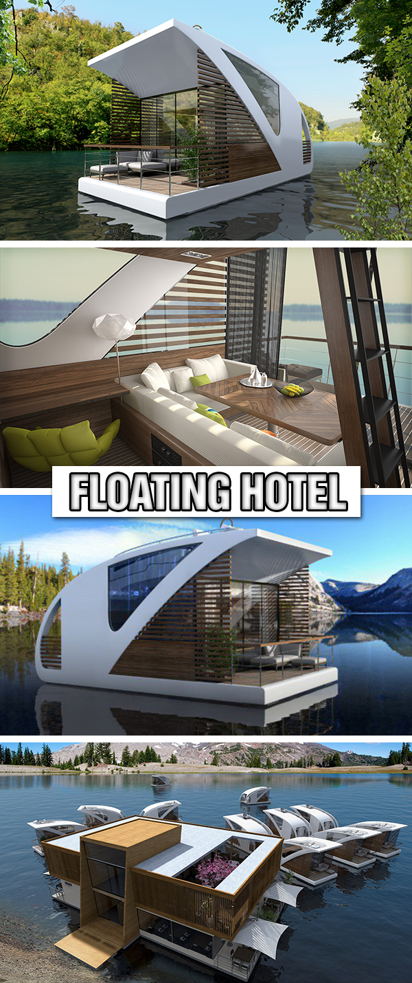 Floating Hotel With Catamaran-Apartments by Salt & Water