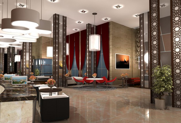 10 astonishing lobby design ideas that will greatly admire you for Hotel decor for home