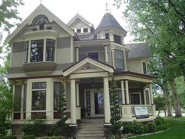 14 extremely impressive victorian house designs for Victorian exterior color schemes