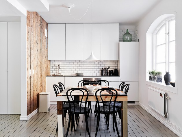 19 Classy Modern Scandinavian Kitchen Design Ideas