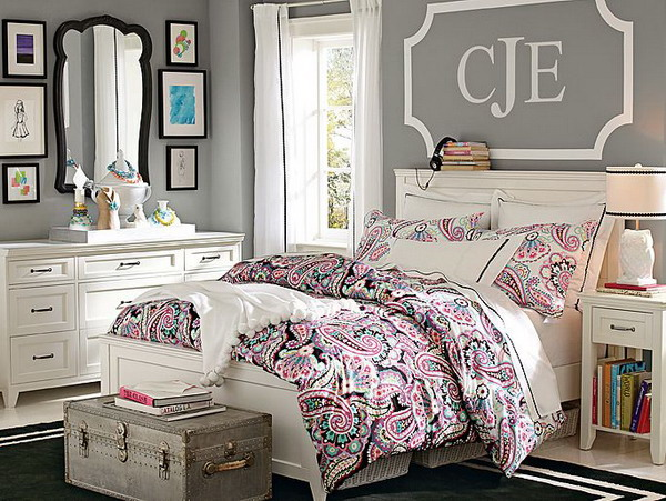 17 fantastic bedrooms for chic teen girls Teenage room paint ideas