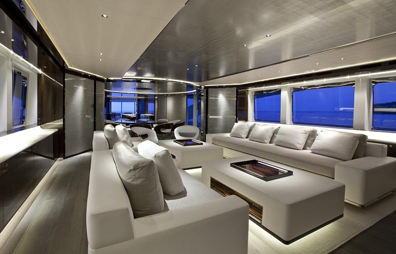 Art Line Yacht Interior Design : Extravagant yacht interior design ideas