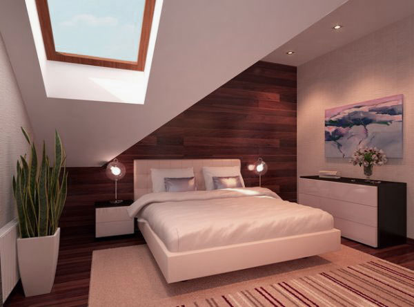 21 Modern Attic Bedroom Designs For All Tastes