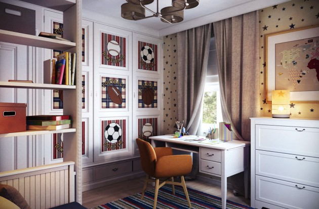 16 Cool Teen Workspace Design Ideas