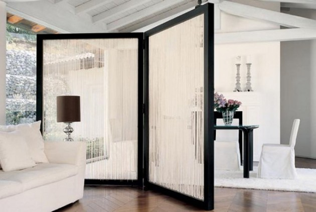 Room DIviders As Decorative Elements
