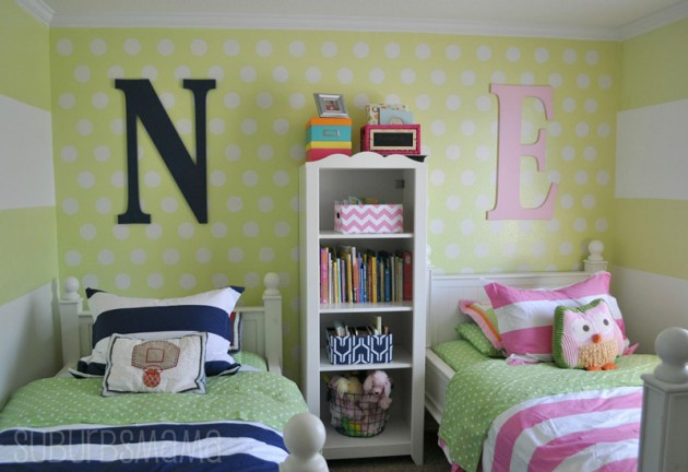 14 Functionally Decorated Shared Rooms For Boy & Girl