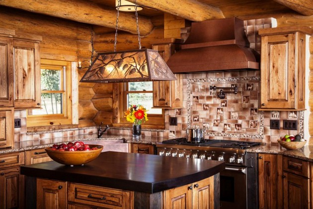 15 Charming Modern Rustic Kitchen Design Ideas on Rustic:fkvt0Ptafus= Farmhouse Kitchen Ideas  id=34083