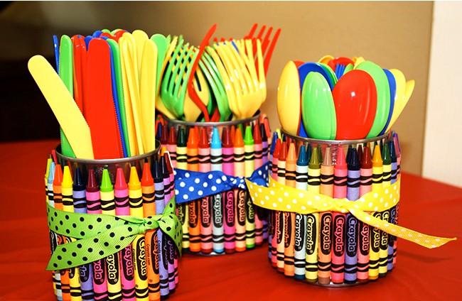 16 Innovative DIY Cutlery Holder Designs