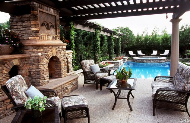 16 Adorable Relaxing Patio Designs For Real Summer Enjoyment