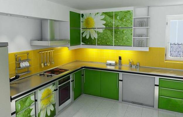 16 Lively Green Kitchen Design Ideas