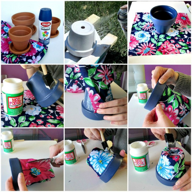 18 Simple & Easy DIY Flower Pot Designs - photo#40