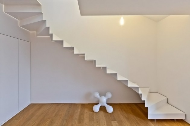 16 Delightful Floating Staircase Design Ideas For Contemporary Homes