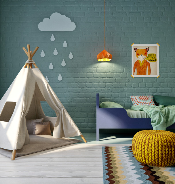 15 Colorful Mid-Century Kids' Room Designs Your Kids Would