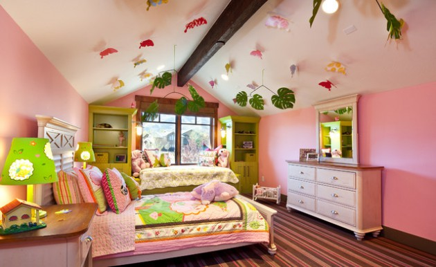 15 Engaging Eclectic Kids' Room Designs Any Kid Would Be Excited To Play In