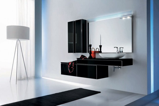 19 Astounding Contemporary Bathroom Cabinet Designs
