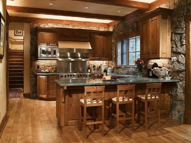 15 charming modern rustic kitchen design ideas Rustic kitchen designs