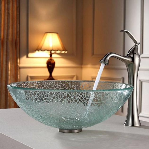 Bathroom Sink Glass Bowl