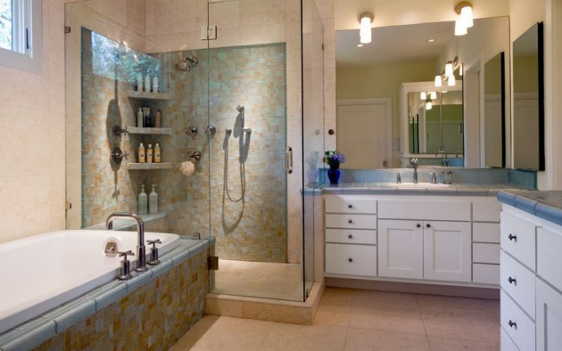15 Space Saving Corner Shower Designs For Every Bathroom
