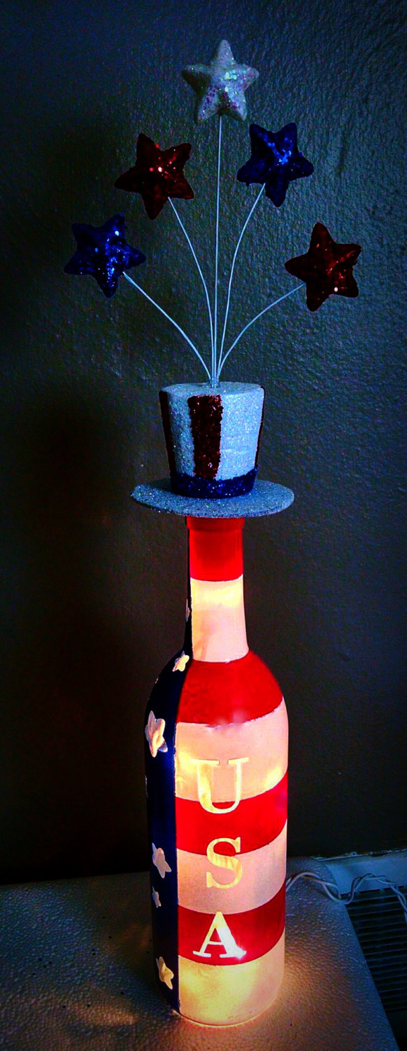 16 Amazing Handmade 4th Of July Decorations For Last Minute Home Decorating