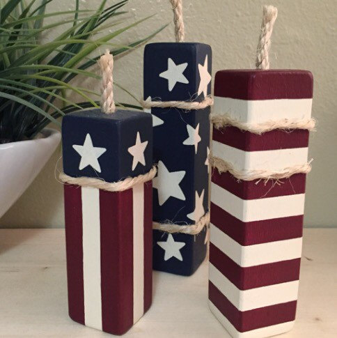Image Result For Th Of July Wood Decor