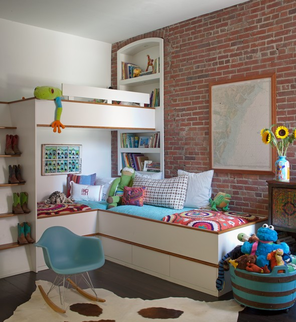 16 Appealing Industrial Kids Room Designs Your Kids Will Love