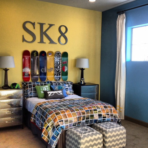 Amazing Interior Design Ideas For Home: 16 Appealing Industrial Kids' Room Designs Your Kids Will Love
