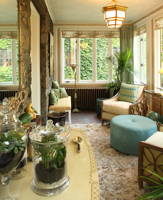 16 Calm & Relaxing Eclectic Conservatory Designs For Everyday Relaxation