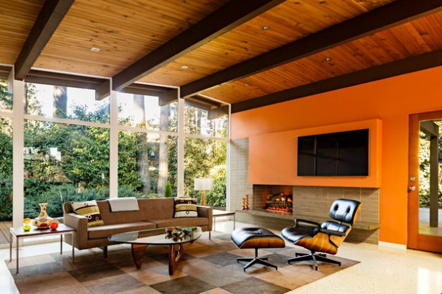 16 Distinctive Mid Century Living Room Designs That Will Inspire You
