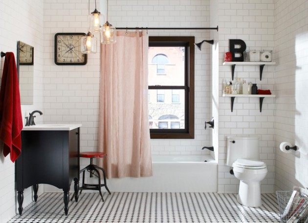 16 Fabulous Eclectic Bathrooms For Those Who Stick To No Rules