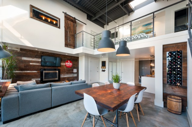 16 Inspiring Industrial Dining Rooms That Will Supply You With New Ideas