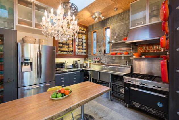 outstanding black kitchen design ideas | 16 Outstanding Eclectic Kitchen Designs With Ideas For ...