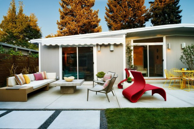 16 Sensational Mid Century Patio Designs To Improve Your