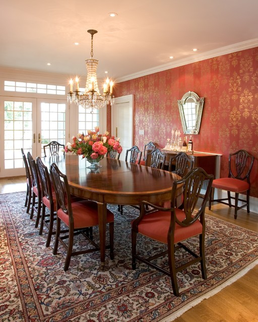 21 Alluring Dining Room Designs With Oval Table