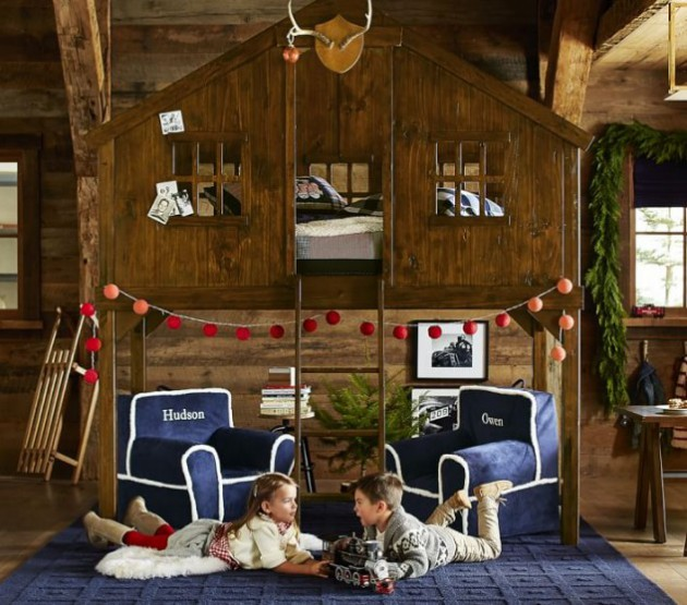17 Cheerful Treehouse Bed Designs For More Joy & Fun